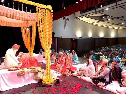 Sikh destination wedding Europe