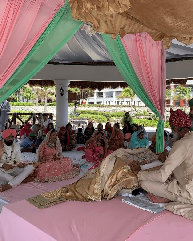 Hindu Sikh wedding