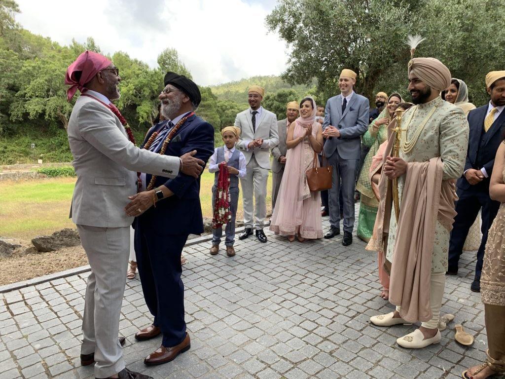 Asian Sikh Wedding